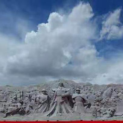 【人物雕塑2118】石雕群像批发