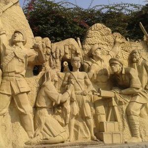 【人物雕塑2125】石雕群像报价