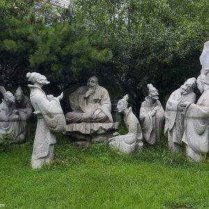 【人物雕塑2126】石雕群像价格