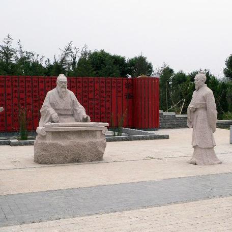 【人物雕塑2128】石雕群像雕刻厂