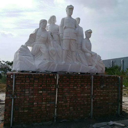 【人物雕塑2131】石雕群像定制