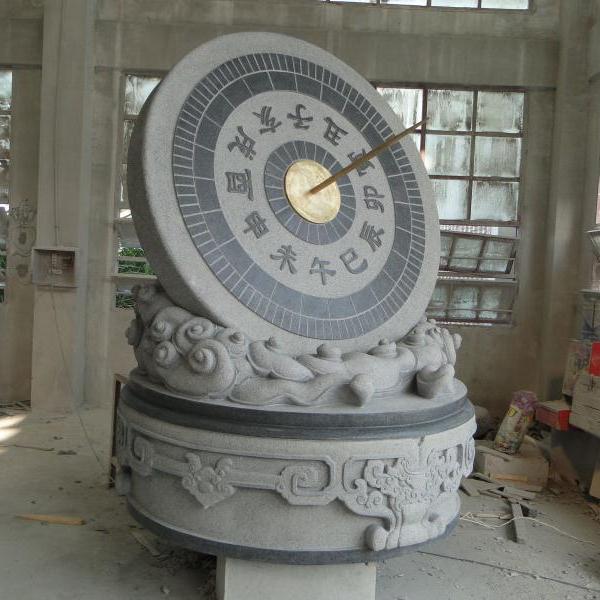 【校园石雕024】日晷石雕厂家