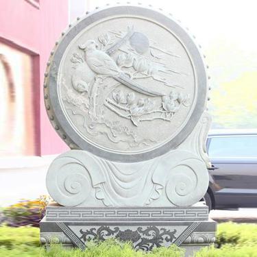 【校园石雕027】日晷石雕多少钱