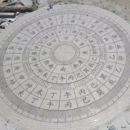 【校园石雕029】日晷石雕定制