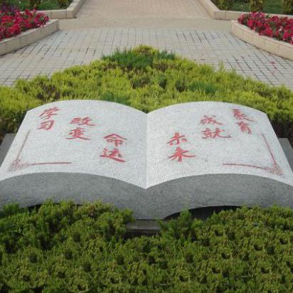 【校园石雕077】书本石雕定做