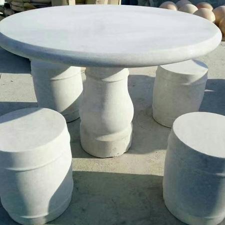 【园林景观181】石雕桌椅板凳哪家好