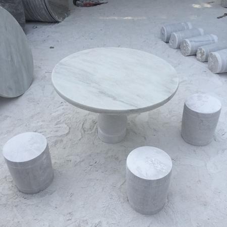 【园林景观182】石雕桌椅板凳价格