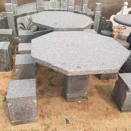 【园林景观184】石雕桌椅板凳公司