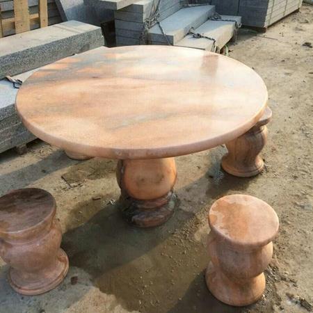 【园林景观192】石雕桌椅板凳公司