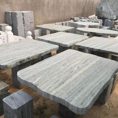【园林景观195】石雕桌椅板凳厂