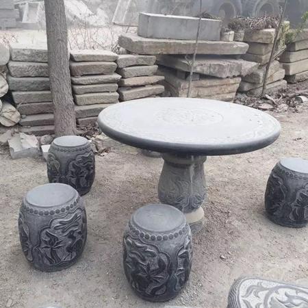 【园林景观197】石雕桌椅板凳哪家好