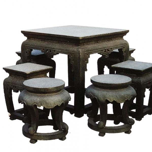 【园林景观205】石雕桌椅板凳哪家好