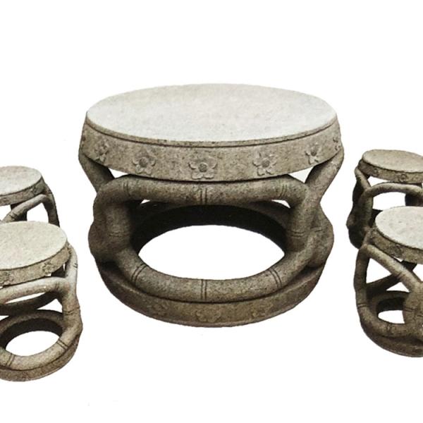 【园林景观206】石雕桌椅板凳价格