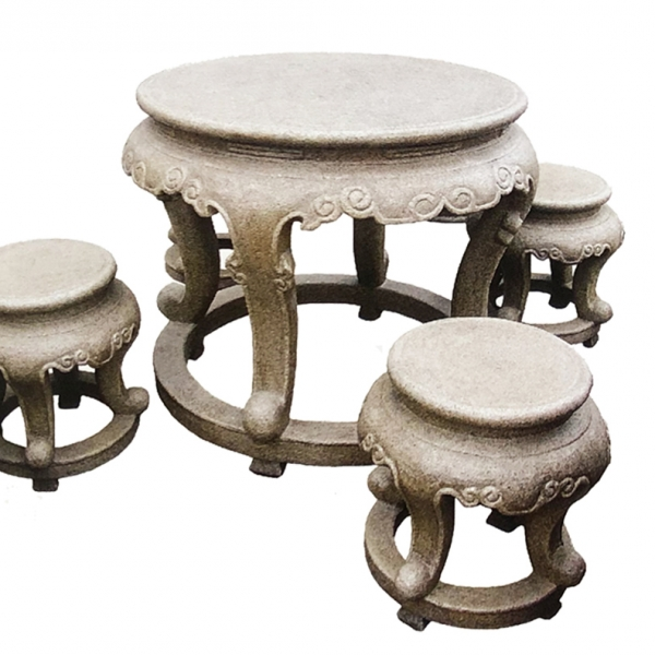 【园林景观210】石雕桌椅板凳价格