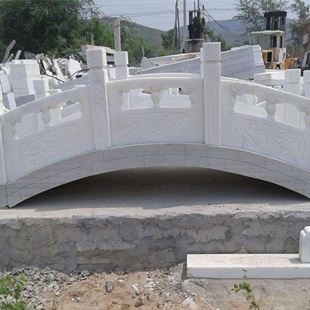 【园林景观130】汉白玉石桥批发