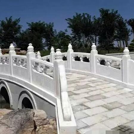 【园林景观145】汉白玉石桥厂家