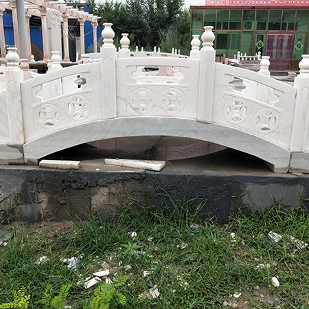 【园林景观157】汉白玉石桥厂家