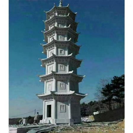 【石雕建筑系列053】石塔厂家