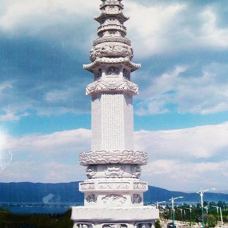 【石雕建筑系列080】石塔供应