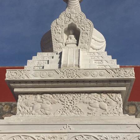 【石雕建筑系列120】舍利塔雕刻厂