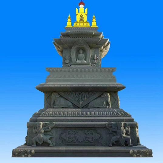 【石雕建筑系列144】舍利塔雕刻厂