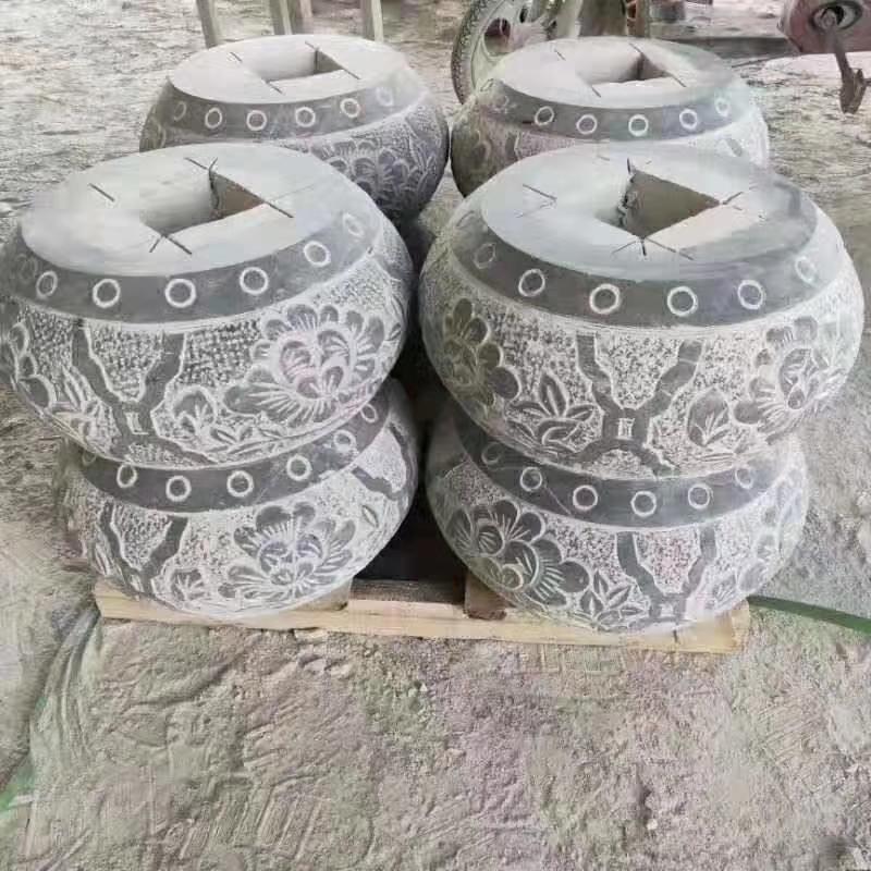 【石雕柱礅系列017】柱礅雕刻厂