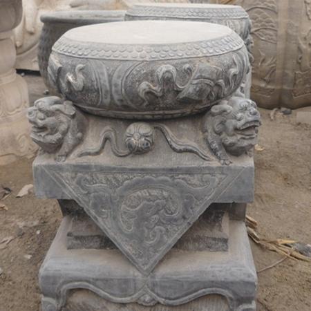 【石雕柱礅系列041】柱礅雕刻厂