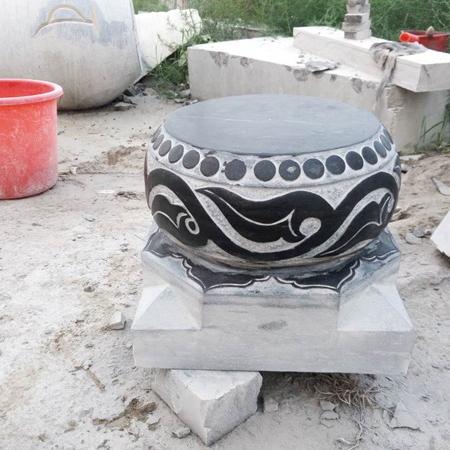 【石雕柱礅系列053】柱礅雕刻厂