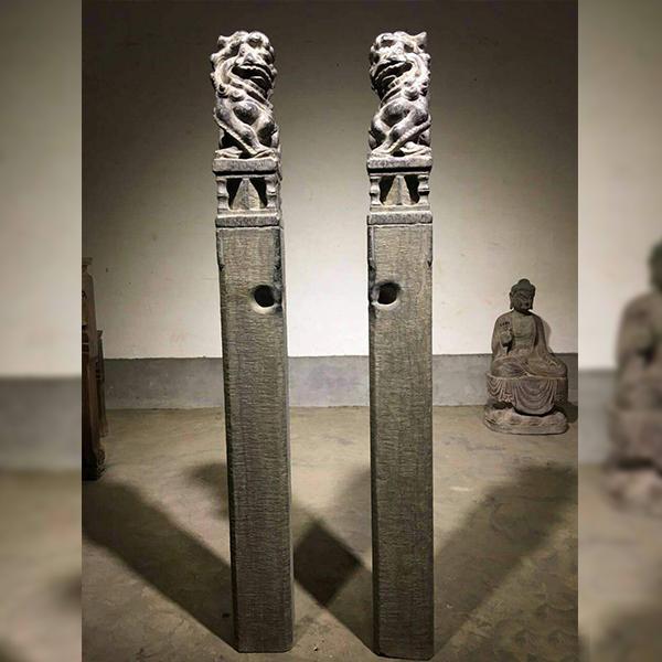 【石雕拴马桩系列004】拴马桩多少钱