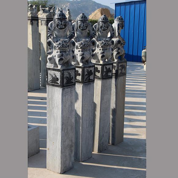 【石雕拴马桩系列006】拴马桩厂