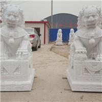 015中式汉白玉石雕狮子汉白玉石雕狮子多少钱汉白玉石雕狮子厂汉白玉狮子报价汉白玉石狮子价格