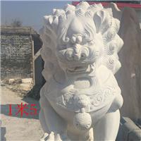 030中式汉白玉石雕狮子汉白玉石雕狮子多少钱汉白玉石雕狮子厂汉白玉狮子报价汉白玉石狮子价格