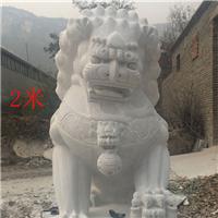 031中式汉白玉石雕狮子汉白玉石雕狮子多少钱汉白玉石雕狮子厂汉白玉狮子报价汉白玉石狮子价格