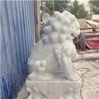 032中式汉白玉石雕狮子汉白玉石雕狮子多少钱汉白玉石雕狮子厂汉白玉狮子报价汉白玉石狮子价格