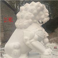 038中式汉白玉石雕狮子汉白玉石雕狮子多少钱汉白玉石雕狮子厂汉白玉狮子报价汉白玉石狮子价格