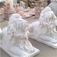 040中式汉白玉石雕狮子汉白玉石雕狮子多少钱汉白玉石雕狮子厂汉白玉狮子报价汉白玉石狮子价格