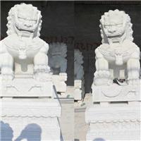 043中式汉白玉石雕狮子汉白玉石雕狮子多少钱汉白玉石雕狮子厂汉白玉狮子报价汉白玉石狮子价格