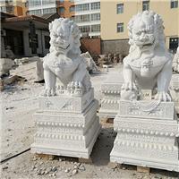 044中式汉白玉石雕狮子汉白玉石雕狮子多少钱汉白玉石雕狮子厂汉白玉狮子报价汉白玉石狮子价格