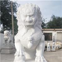 066中式汉白玉石雕狮子汉白玉石雕狮子多少钱汉白玉石雕狮子厂汉白玉狮子报价汉白玉石狮子价格