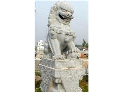 359中式石雕狮子石狮子价格青石石雕