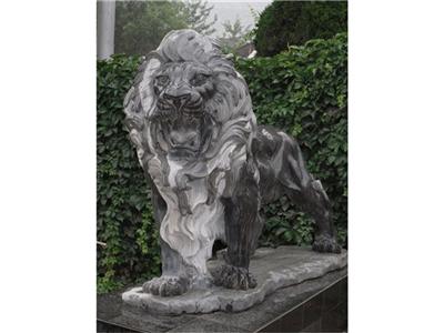 552西式石雕狮子花岗岩石雕狮子青石