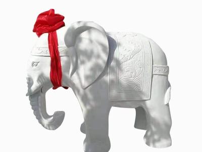 石雕大象,石雕动物,石雕瑞兽