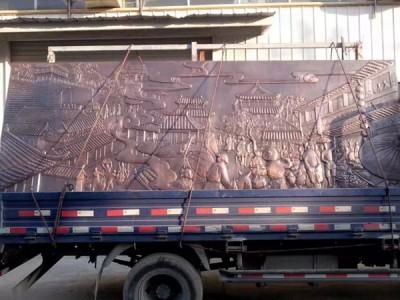 唐县建坤大型铜浮雕