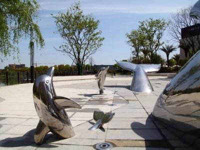 曲阳石雕|不锈钢雕塑