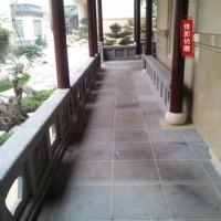 徽州仿古砖雕|砖细栏杆