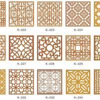 献华木雕|花窗系列定制价格