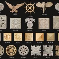 献华木雕|木花系列加工定制