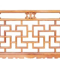 献华木雕|栏杆系列加工定制
