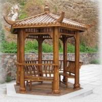 献华木雕|亭角系列定制价格