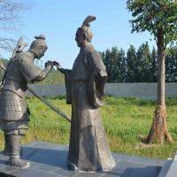 许昌市景观河节点雕塑群